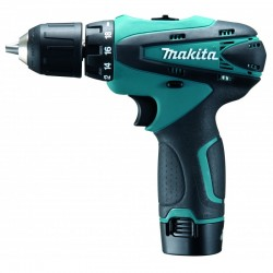 Perceuse visseuse 10,8 V Li-Ion 1,3 Ah 10 mm Makita DF330DWE3