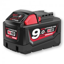 BATTERIE RED LITHIUM-ION 18V - 9,0 AH