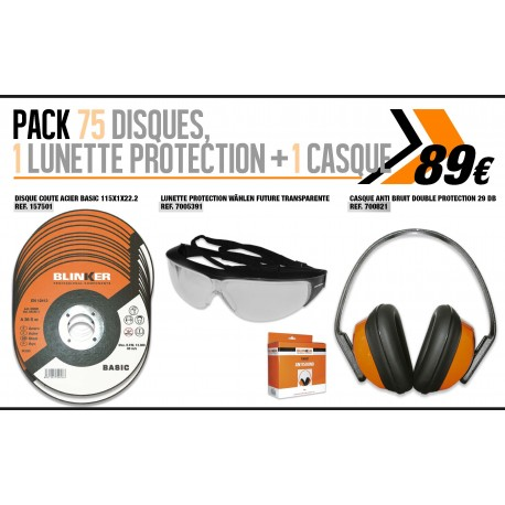 pack disques