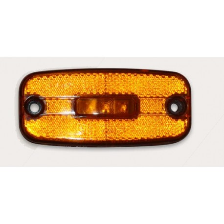 FEU LATERAL ORANGE 3 LED