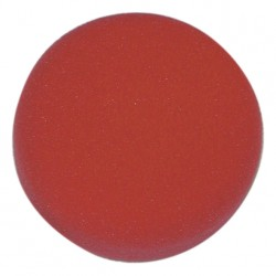 Eponge rouge de finition special velcro 180mm